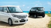 Suzuki Solio front and rear
