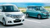 Suzuki Solio front three quarters