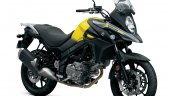Suzuki V-Strom 650 press front right quarter