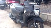TVS Graphite spied near dealership front right quarter