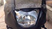TVS Graphite spied near dealership headlamp