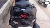 TVS Graphite spied near dealership tail light