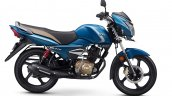 TVS Victor Premium Edition Matte Blue press right side