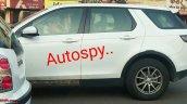 Tata Q501 profile spy shot