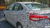 Toyota Yaris Ativ (Toyota Vios) spy shot India