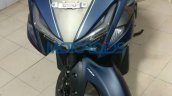 Yamaha Aerox 155 spied in India front