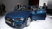 2018 Audi A6 front three quarters at 2018 Geneva Motor Show