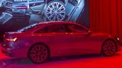 2018 Audi A6 rear three quarters right side at 2018 Geneva Motor Show