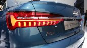 2018 Audi A6 tail lamp at 2018 Geneva Motor Show