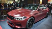 2018 BMW M5 First Edition front angle