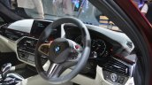2018 BMW M5 First Edition steering wheel