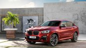 2018 BMW X4 (BMW G02) front three quarters