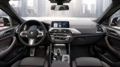 2018 BMW X4 (BMW G02) interior dashboard