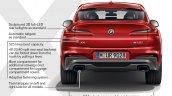2018 BMW X4 (BMW G02) rear highlights