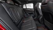 2018 BMW X4 (BMW G02) rear seats