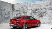 2018 BMW X4 (BMW G02) rear three quarters