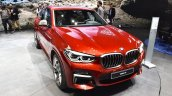 2018 BMW X4 M40d front three quarters at 2018 Geneva Motor Show