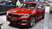 2018 BMW X4 M40d front three quarters left side at 2018 Geneva Motor Show