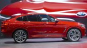 2018 BMW X4 profile at 2018 Geneva Motor Show