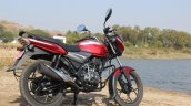 2018 Bajaj Discover 110 right side first ride review