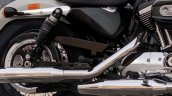 2018 Harley-Davidson 1200 Custom press exhausts