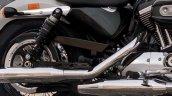 2018 Harley-Davidson 1200 Custom press exhausts