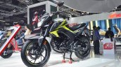 2018 Honda CB Hornet 160R front left quarter at 2018 Auto Expo