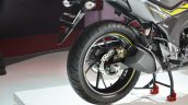 2018 Honda CB Hornet 160R rear wheel at 2018 Auto Expo