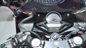 2018 Honda CBR250R cockpit at 2018 Auto Expo