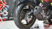 2018 Honda CBR250R rear wheel at 2018 Auto Expo