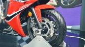 2018 Honda CBR650F front wheel at 2018 Auto Expo