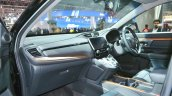 2018 Honda CR-V dashboard side view at Auto Expo 2018
