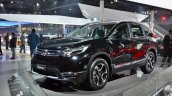 2018 Honda CR-V front three quarters at Auto Expo 2018