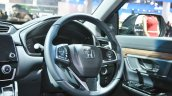 2018 Honda CR-V steering at Auto Expo 2018
