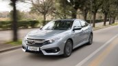 2018 Honda Civic diesel front three quarters dynamic