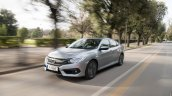 2018 Honda Civic diesel front three quarters left side dynamic