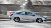 2018 Honda Civic diesel profile dynamic