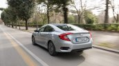 2018 Honda Civic diesel rear three quarters dynamic