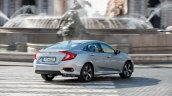 2018 Honda Civic diesel rear three quarters right side dynamic