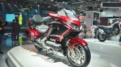 2018 Honda Goldwing Tour front right quarter at 2018 Auto Expo