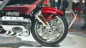2018 Honda Goldwing Tour front wheel at 2018 Auto Expo