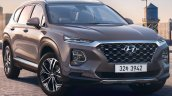 2018 Hyundai Santa Fe front three quarters right side