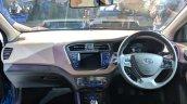 2018 Hyundai i20 (facelift) dashboard at Auto Expo 2018