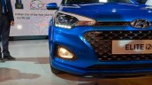 2018 Hyundai i20 (facelift) front fascia at Auto Expo 2018