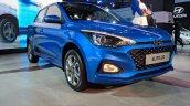 2018 Hyundai i20 (facelift) front three quarters at Auto Expo 2018