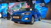2018 Hyundai i20 (facelift) front three quarters at Auto Expo 2018