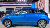 2018 Hyundai i20 (facelift) profile at Auto Expo 2018