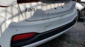 2018 Hyundai i20 facelift rear bumper