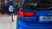 2018 Hyundai i20 (facelift) tail lamp at Auto Expo 2018