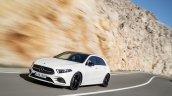 2018 Mercedes A-Class front three quarters dynamic